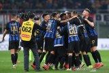 Inter Milan menangi Derby Della Madonnina, gusur Milan dari peringkat ketiga