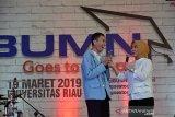 Vidio - Blok Rokan baru 2/3 digarap, Dirut Pertamina ajak mahasiwa Riau kolaborasi