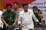 Wiranto tekankan aparat keamanan netralisir potensi kerawanan Pemilu 2019