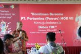 Pertamina MOR VII baksos dukung Indonesia bebas Tuberculosis