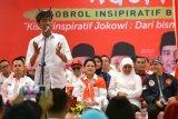 Survei Pilpres terbaru, Masyarakat puas terhadap kinerja Pemerintahan Jokowi