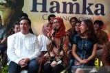 Desy Ratna Sari kesulitan berbahasa Minang di film Buya Hamka