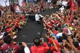 Kampanye di Banyuwangi, Jokowi ajak masyarakat lawan hoaks
