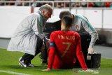 Ronaldo alami cedera saat menjamu Serbia