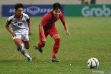Indonesia gagal ke final Piala Merlion setelah ditaklukkan Thailand 1-2