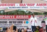 Jokowi janjikan bangun jalan arteri Mamuju