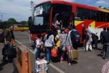 Penumpang di terminal BRPS Pekanbaru melonjak akibat tiket pesawat naik