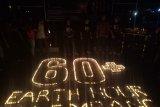 Hotel-hotel di Palembang kompak padamkan lampu kampanye earth hour 60+