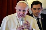 Paus Fransiskus puji  China dalam tanggulangi wabah virus corona