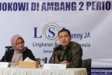 Lima alasan Jokowi unggul atas Prabowo versi LSI
