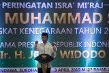 Presiden Jokowi : Perjalanan agung Nabi Muhammad ingatkan kekuasaan Allah SWT