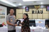 Keluarga polisi korban teroris di Mapolda Riau peroleh kompensasi LPSK