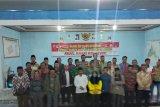 Polres Mesuji  patroli subuh ciptakan Pemilu  aman dan kondusif