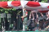 Pangdam pimpin gelar pasukan pengamanan presiden