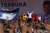 Jokowi-Maruf harus kerja keras meski unggul di hasil survei