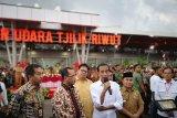 Presiden Jokowi resmikan terminal baru Bandara Tjilik Riwut Palangkaraya