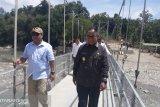 KemenPuPR bangun jembatan gantung untuk warga perbatasan