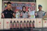 Polisi Temanggung gagalkan pengiriman minuman beralkohol ke Yogyakarta