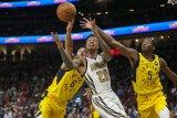 Pacers tutup musim NBA dengan kemenangan dramatis atas Hawks