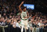 Guard Boston robek otot,  sehingga  absen di playoff NBA