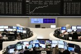 Saham Jerman berakhir naik tipis, dengan indeks DAX 30 menguat 0,27 persen