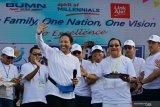 BUMN tak boleh ikut dalam kegiatan politik, kata Rini Soemarno