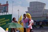 Raffi Ahmad dan Via Vallen ajak warga Lampung dukung Jokowi