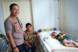 Bocah asal Nias tertelan uang koin diterbangkan ke Medan