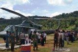 Distribusikan logistik Pemilu ke perbatasan KPU Mahakam gunakan helikopter milik TNI