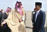 Presiden Jokowi lanjutkan perjalanan menuju Madinah