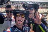 Alex Rins juara  GP Amerika, Marquez tumbang