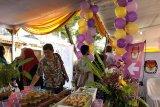 Dua TPS unik di Yogyakarta bertema pesta bernuansa ungu