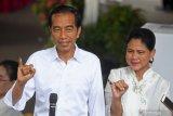 Jokowi sementara unggul di hitung cepat