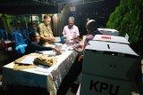 Penghitungan suara masih berlangsung di sejumlah TPS di Kelurahan Awiyo Jayapura