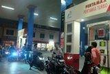 Distribusi BBM ke SPBU di Medan mulai normal