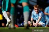 Guardiola bersiap atas kemungkinan terburuk De Bruyne absen di sisa musim
