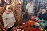 Dirjen Perdagangan Dalam Negeri Sidak Pasar Tradisional Kendari