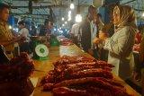 Turun, harga daging sapi di Kendari