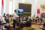 President Joko Widodo led a plenary cabinet meeting at the Bogor Palace