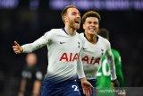 Liga Inggris - Tottenham kembali ke peringkat tiga klasemen usai kalahkan Brighton
