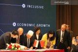 Wapres JK saksikan penandatanganan 23 MoU Indonesia-China