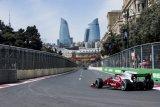 F2 Azerbaijan - Sean Gelael dihukum start dari belakang