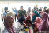 Warga Sinaboi antusias ikuti pengobatan gratis