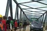 Warga: Jembatan darurat didirikan untuk atasi jembatan amblas