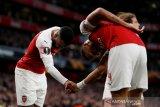 Aubameyang-Lacazette antar Arsenal tundukkan Valencia 3-1