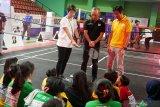 Tokoh olahraga nasional berbagi kiat prestasi bersama pelajar