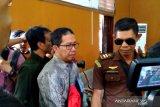 Mantan Plt Ketum PSSI Joko Driyono jalani sidang perdana
