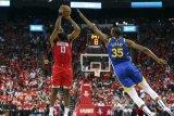 Harden mengomandoi Rockets serikan 2-2 lawan Warriors