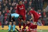 Liga Champions -  Bek Liverpool Andy Robertson: Yang penting kami lolos final