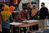 Saksi paslon 02 tidak teken rekapitulasi suara Pemilu di Jateng